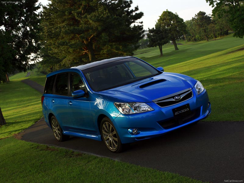 Photo Subaru Exiga blue