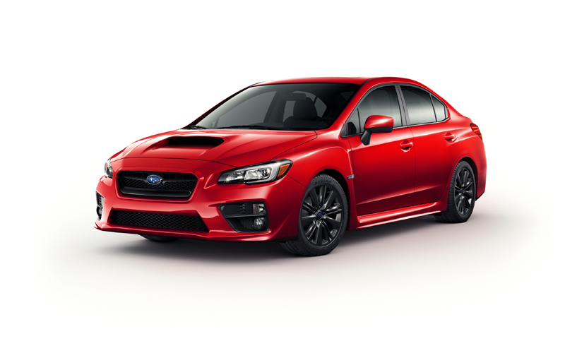 SUBARU WRX US spec in LA 2013
