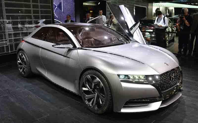 Концепт-кар Citroen Divine DS на Парижском Автосалоне 2014 года