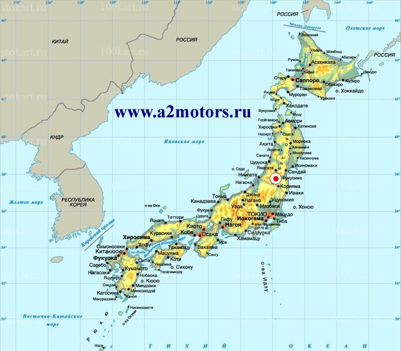 Субару в Японии
